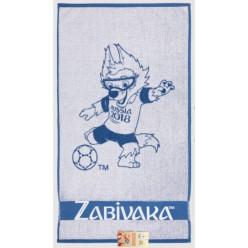 Полотенце с символом ЧМ по футболу ЗАБИВАКА