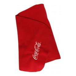 Флисовый шарф с лого 170х25
