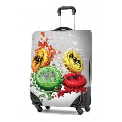 Чехол для чемодана с лого XL