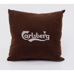 Подушка с логотипом на заказ