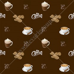 "Ткань ""Кофе"" 03"