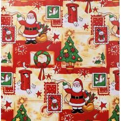 """Скатертная ткань """"Новогодняя коллекция 2017"""" Christmas"""