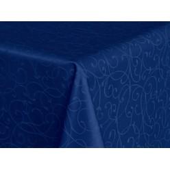 Ткань Ричард 08С6-КВгл+ГОМ т.р. 1812 цвет 19-4050 синий, ширина 305 см