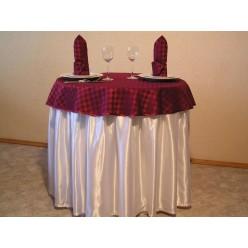Фуршетная юбка из Креп-сатина 1,0 х 0,70